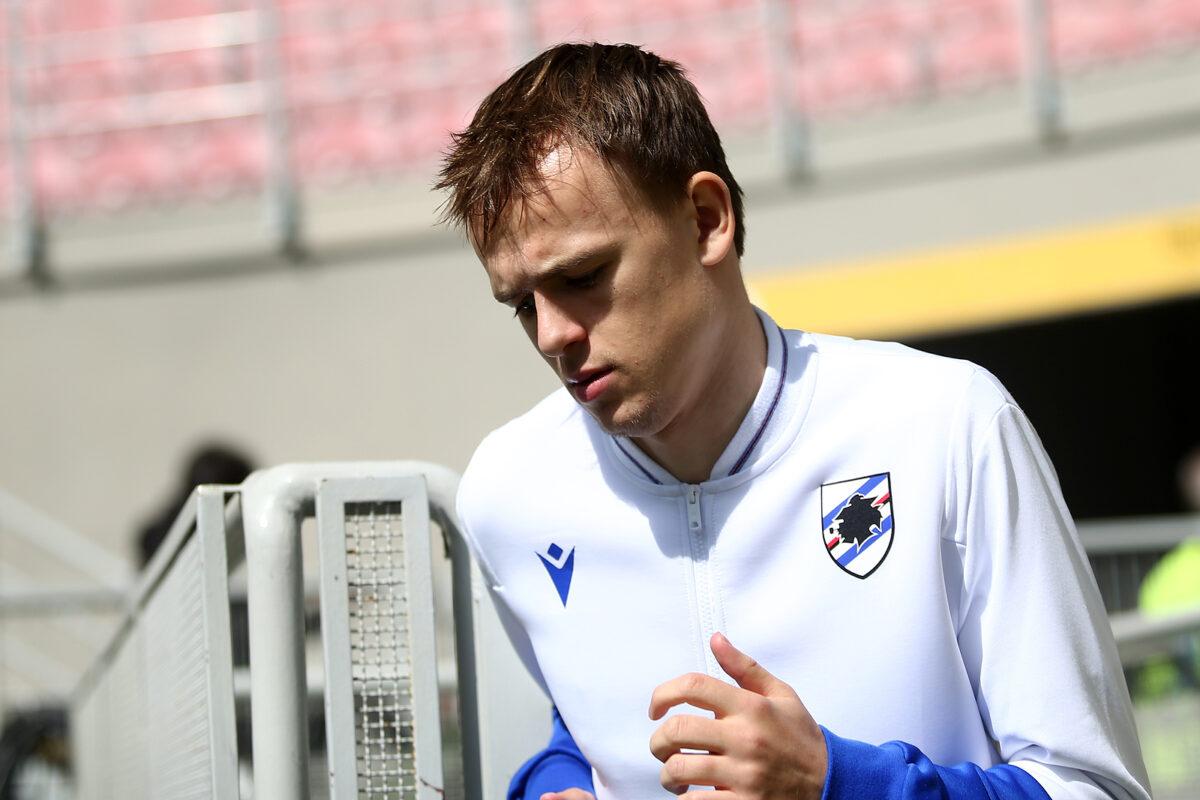 Mikkel Damsgaard, attaccante Sampdoria