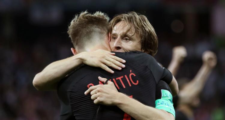 Luka Modrić e Ivan Rakitić, Croazia, Mondiali 2018