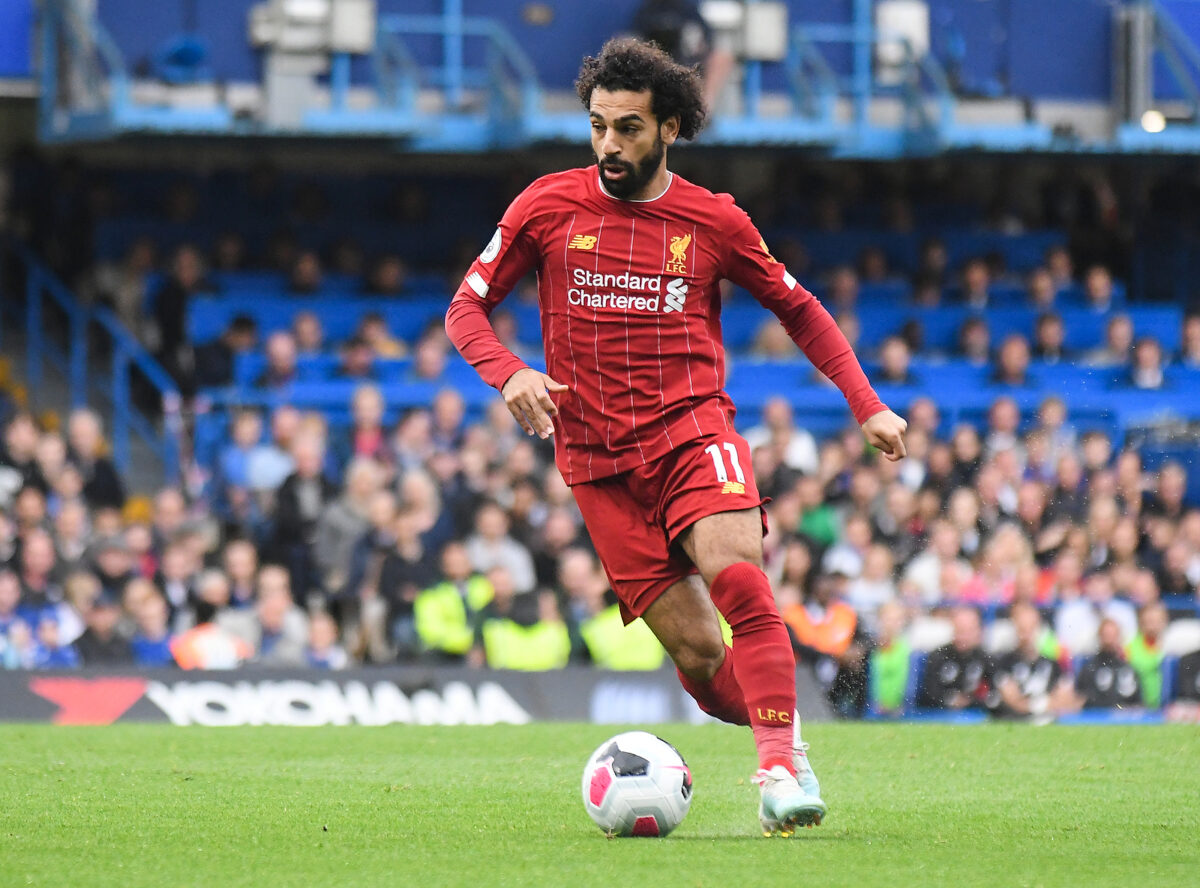 Mohamed Salah, attaccante Liverpool