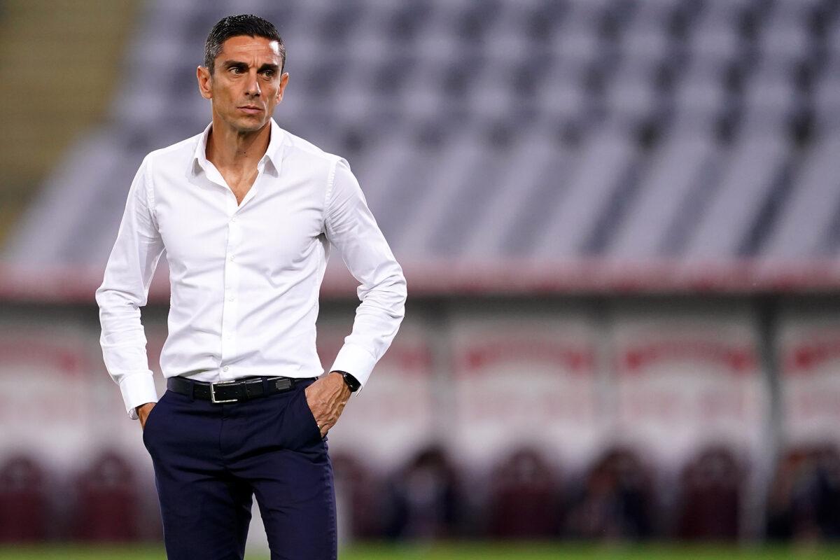 Moreno Longo, allenatore Alessandria