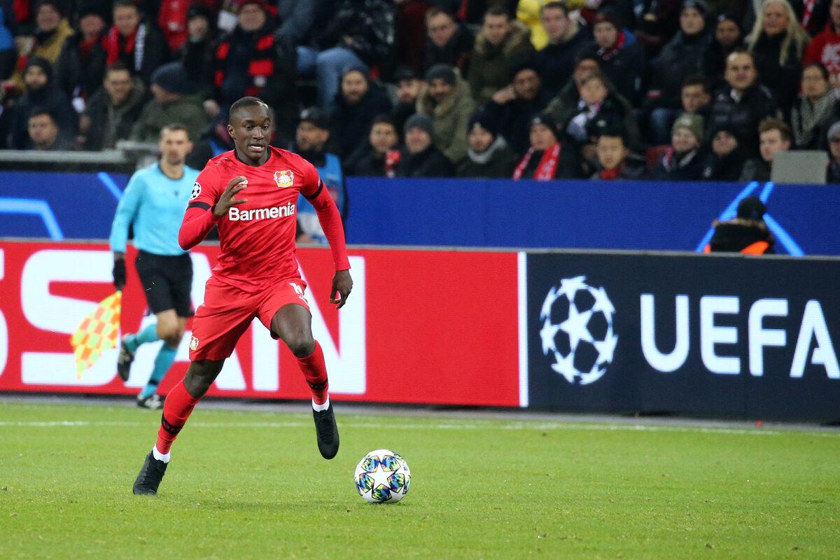 Moussa Diaby, attaccante Bayer Leverkusen