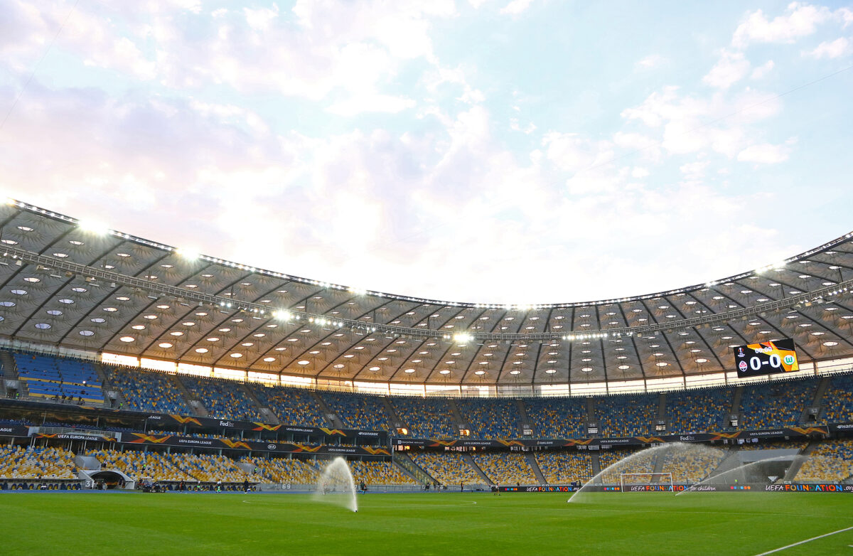 NSC Olimpiyskyi Stadium, Kiev