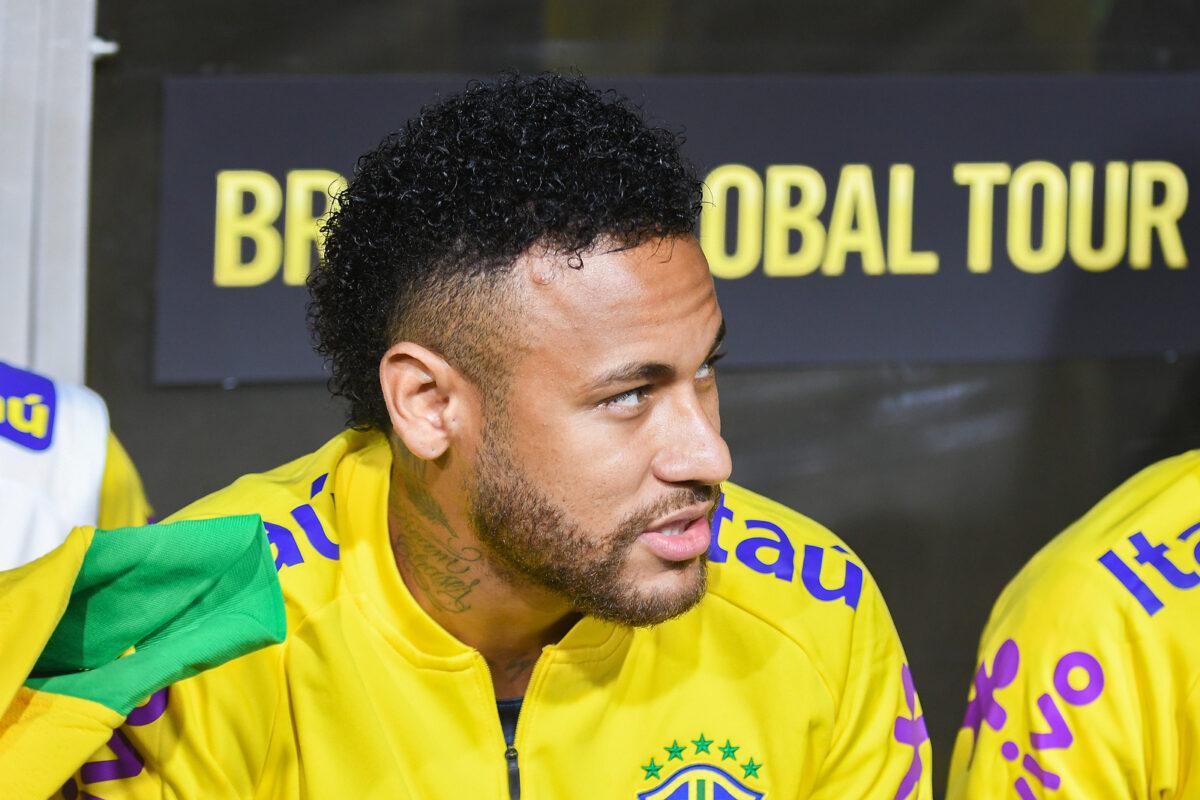 Neymar, attaccante Brasile
