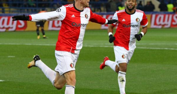 Nicolai Jorgensen, attaccante Feyenoord