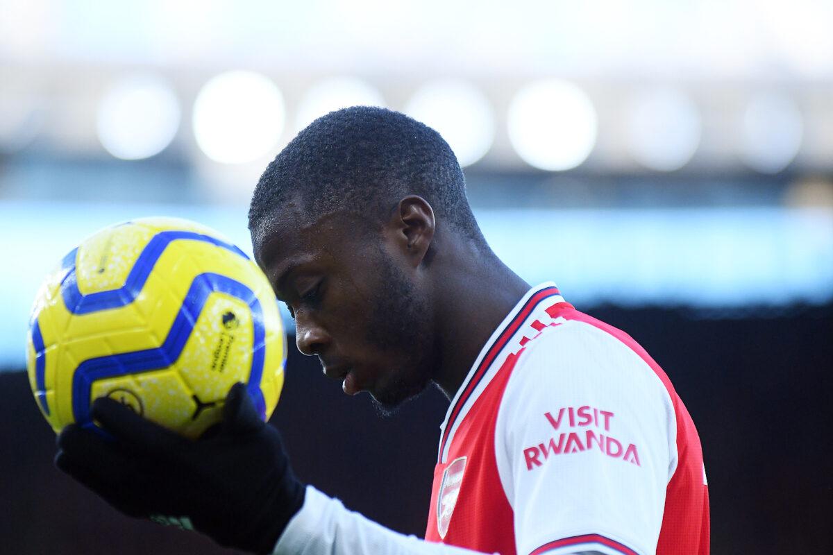 Nicolas Pepe, attaccante Arsenal