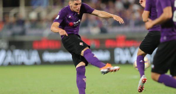 Nikola Milenkovic, difensore della Fiorentina