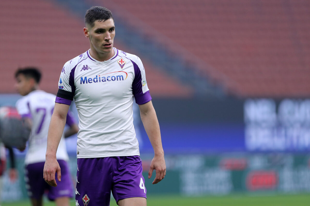 Nikola Milenkovic, difensore Fiorentina