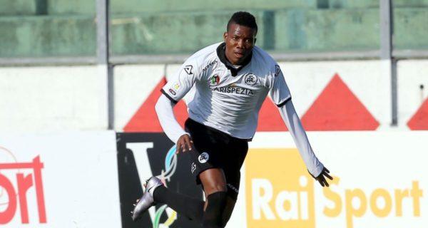 Okereke, attaccante Spezia - Serie B