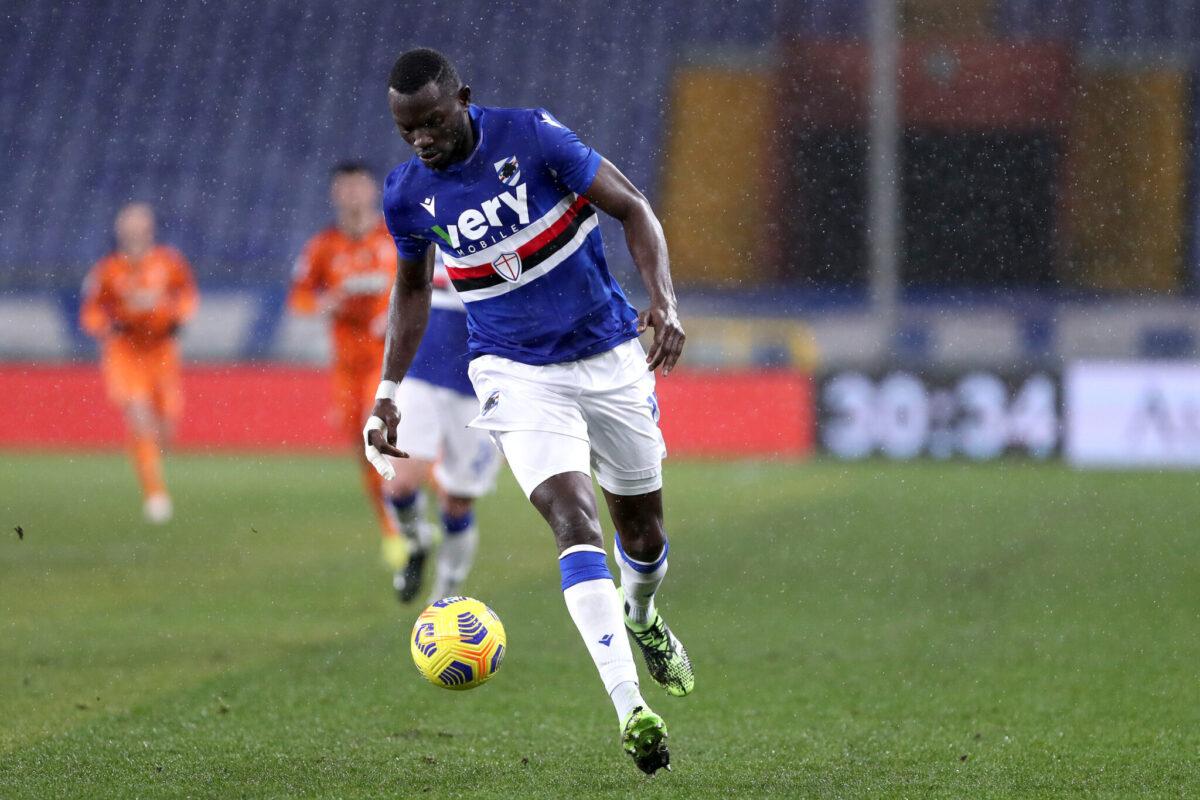 Omar Colley, difensore Sampdoria