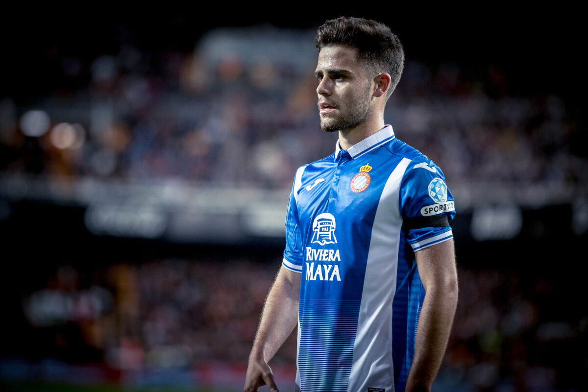 Oscar Melendo, centrocampista Espanyol