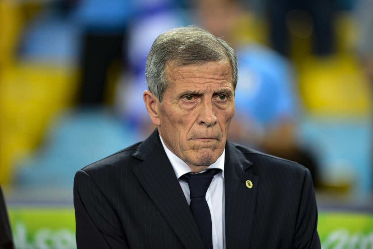 Oscar Tabarez, allenatore Uruguay