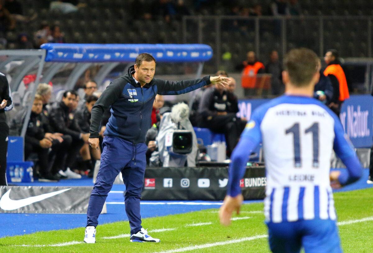 Pal Dardai, allenatore Hertha Berlino