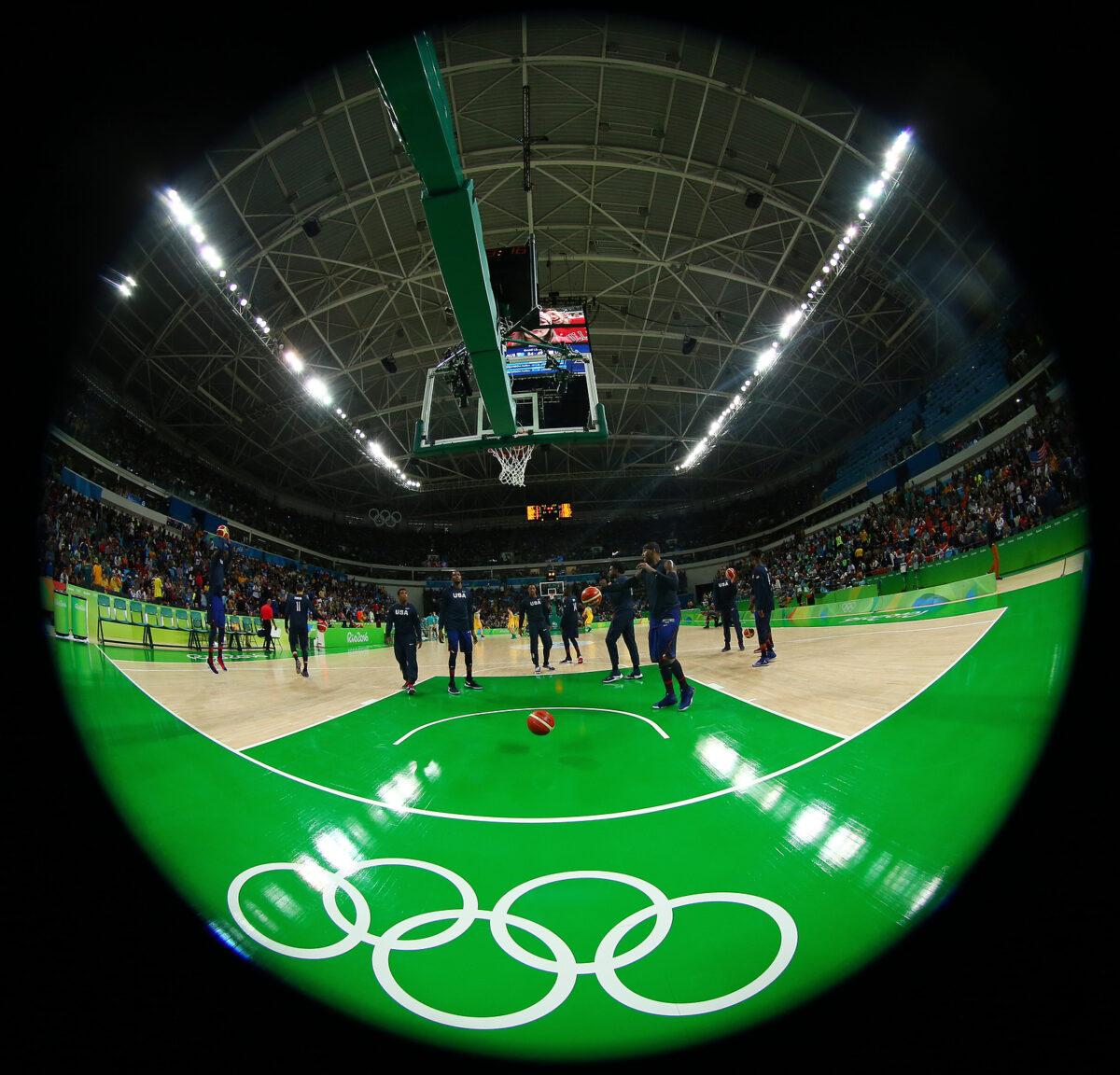 Parquet Basket - Olimpiadi