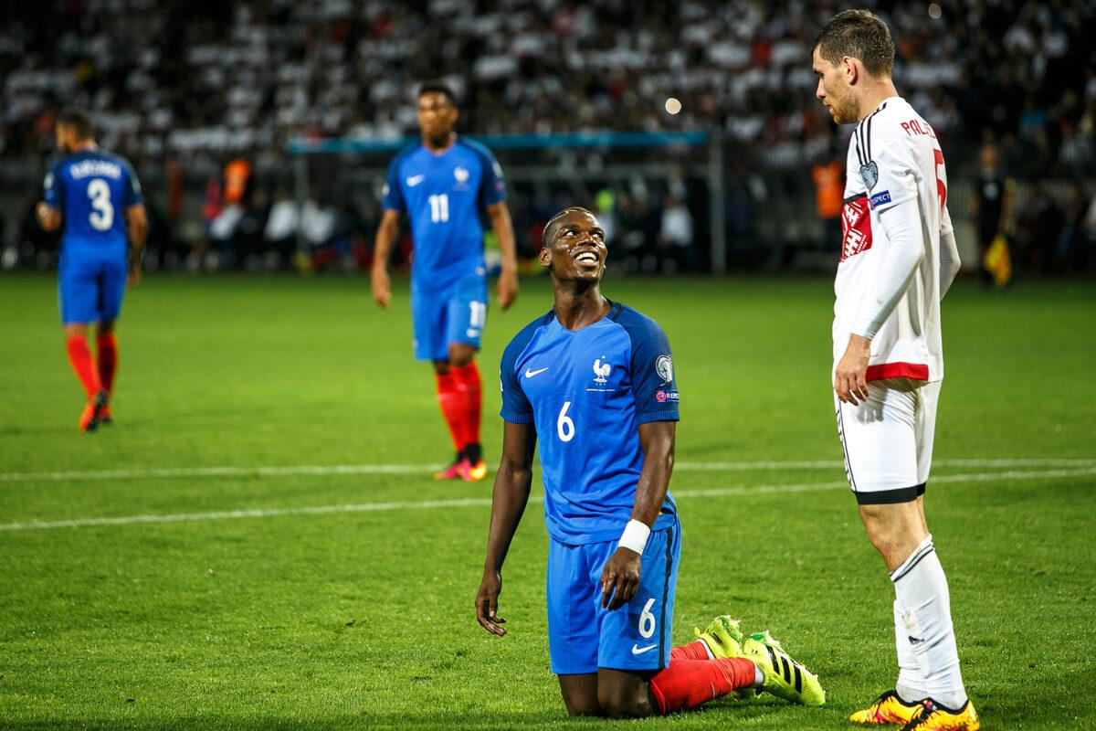 Paul Pogba, centrocampista Francia