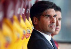Paulo Fonseca, allenatore Roma