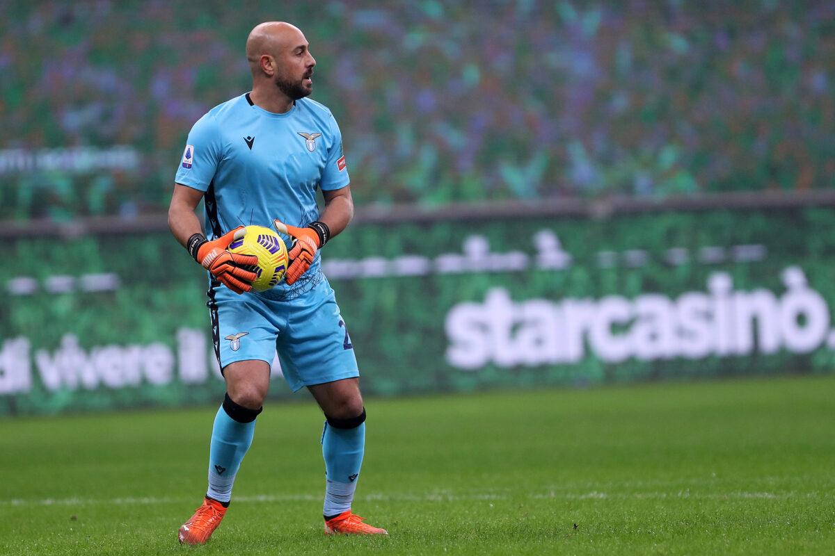 Pepe Reina, portiere Lazio
