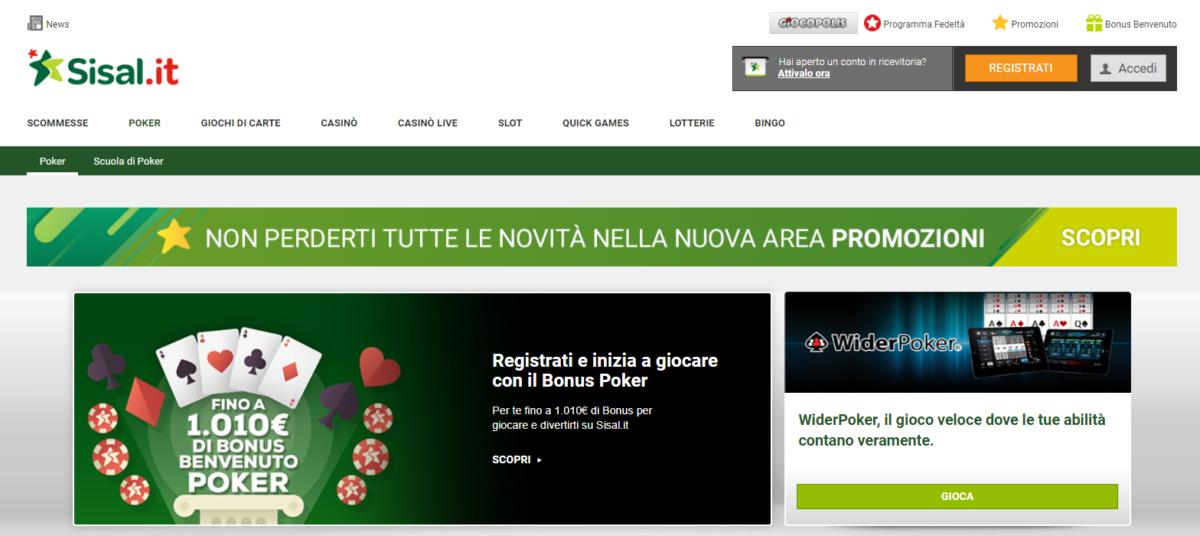 Poker Online Sisal