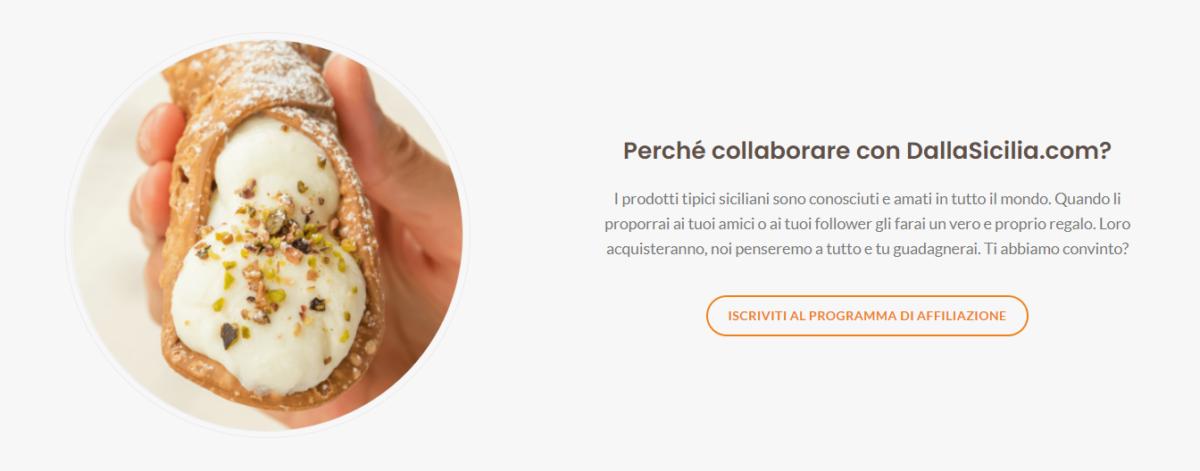 Programma Partner DallaSicilia.com