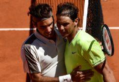 Rafael Nadal e Roger Federer - Tennis