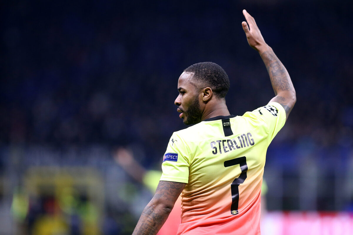 Raheem Sterling, attaccante Manchester City