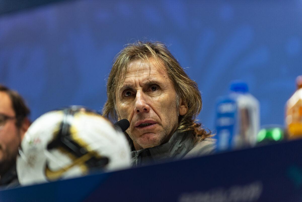 Ricardo Gareca, allenatore Perù