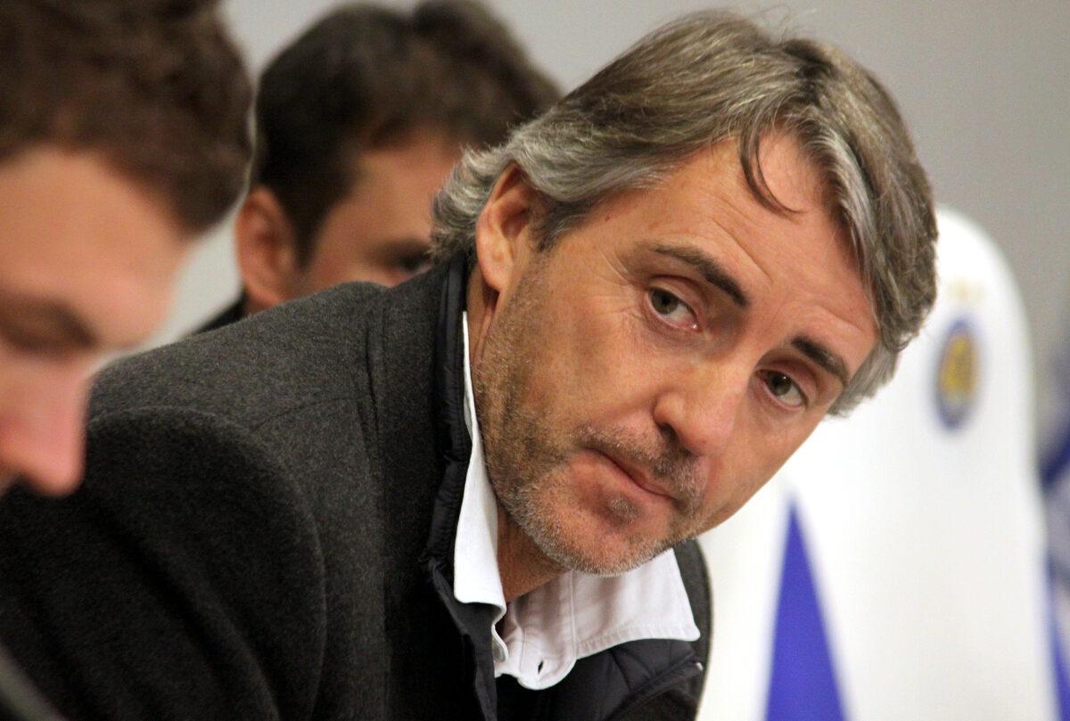 Roberto Mancini, allenatore Italia