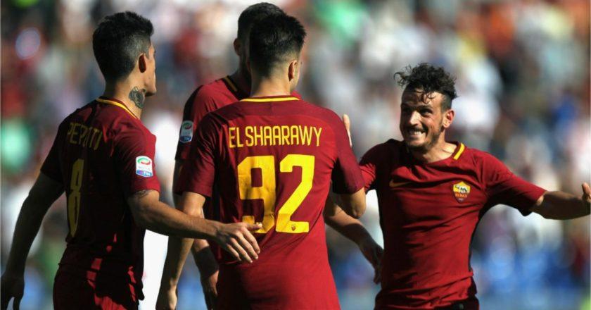 Roma: Perotti, El Shaarawy, Florenzi