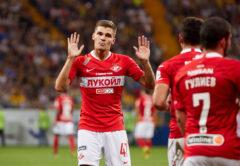 Roman Zobnin, centrocampista Spartak Mosca