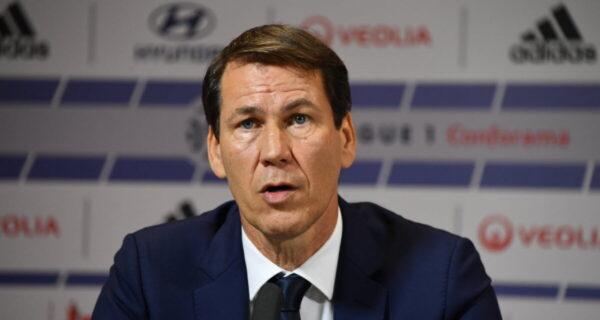 Rudi Garcia, allenatore Lione