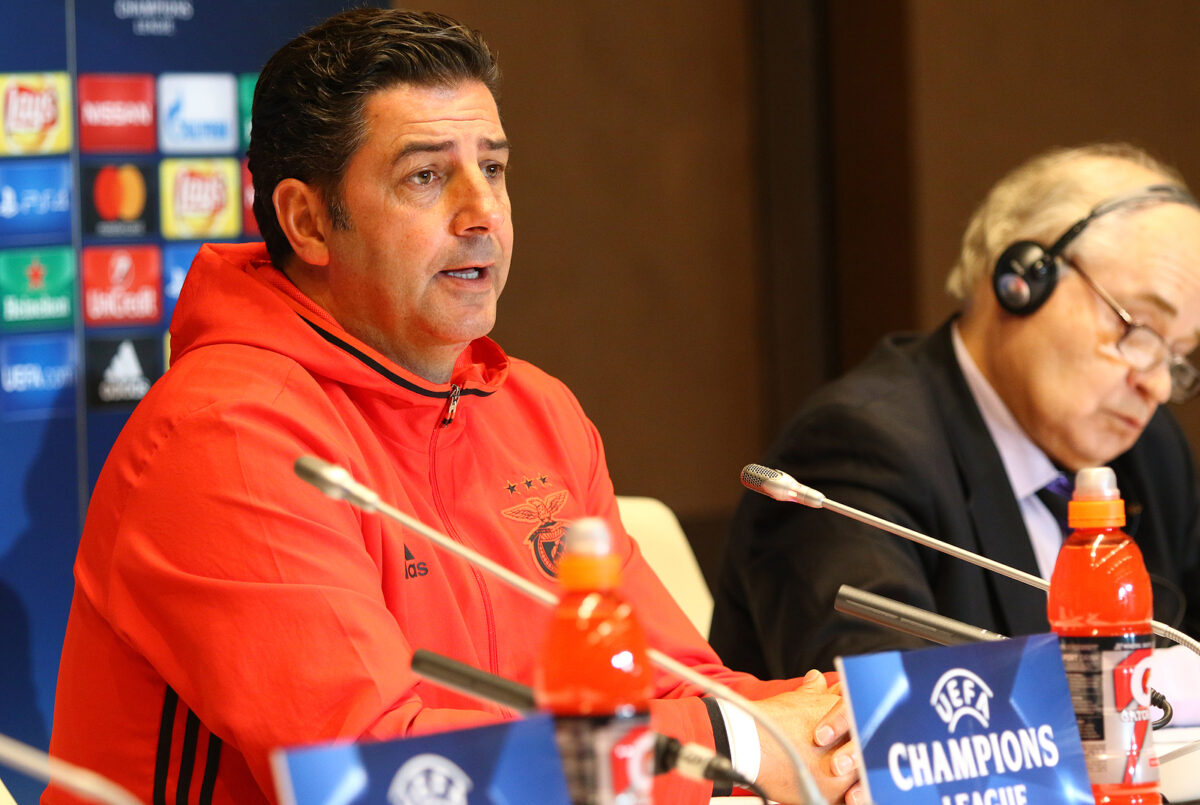 Rui Vitoria, allenatore Spartak Mosca