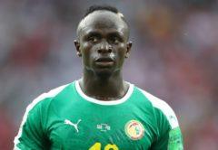 Sadio Mane, attaccante Senegal