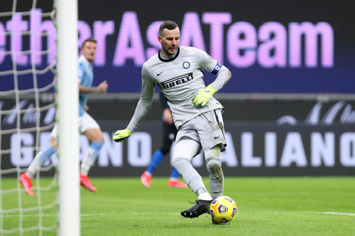 Samir Handanovic, portiere Inter