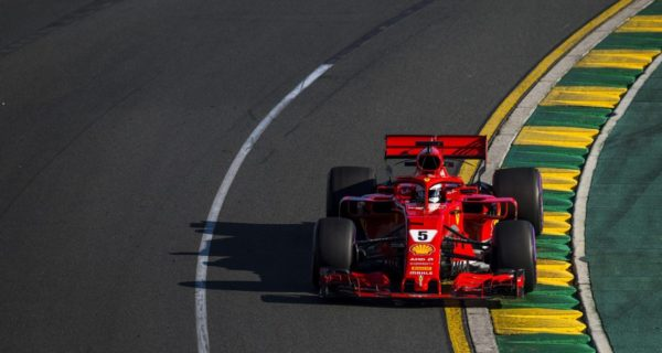 Sebastian Vettel, Ferrari 2018