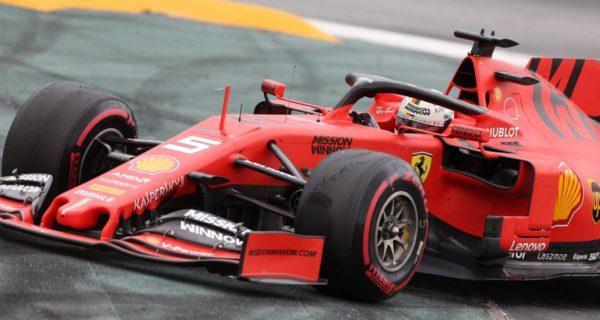 Sebastian Vettel, pilota Ferrari