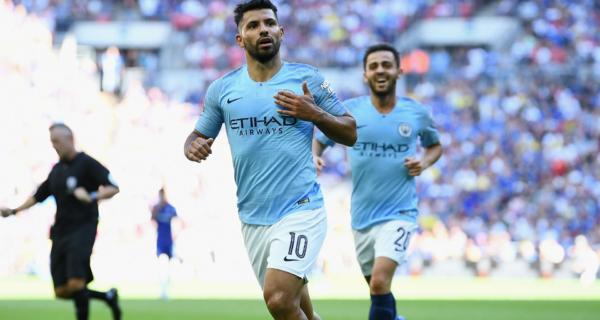 """Sergio """"El Kun"""" Agüero, Manchester City"""