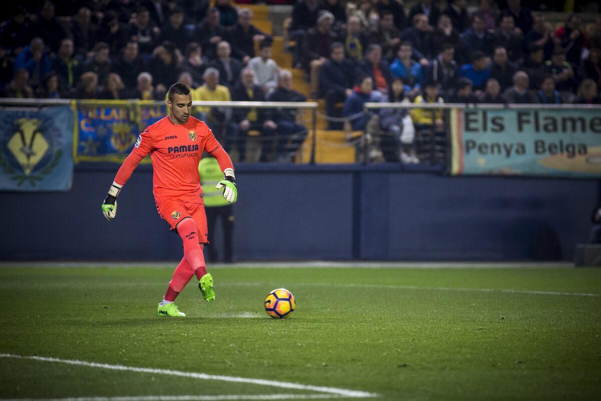 Sergio Asenjo, portiere Villarreal
