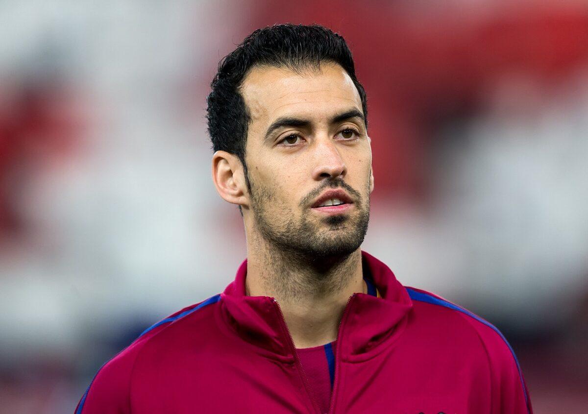 Sergio Busquets, centrocampista Spagna