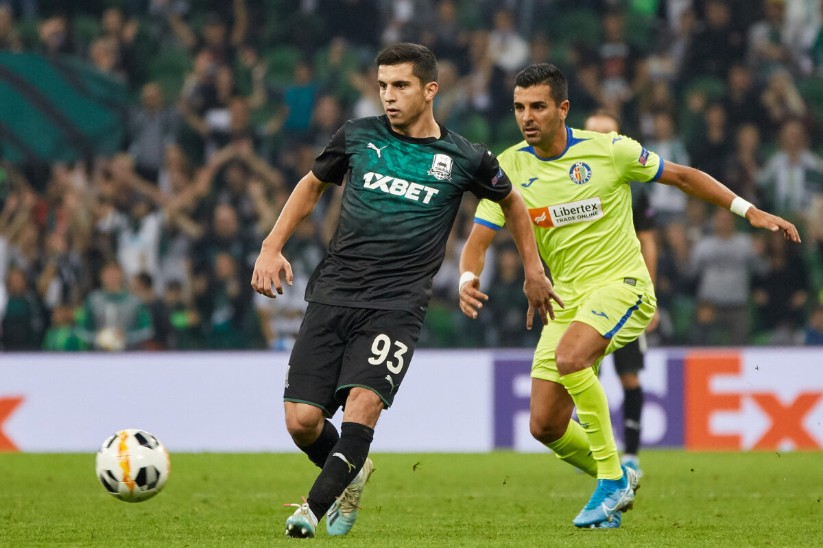 Shapi Suleymanov, centrocampista Krasnodar