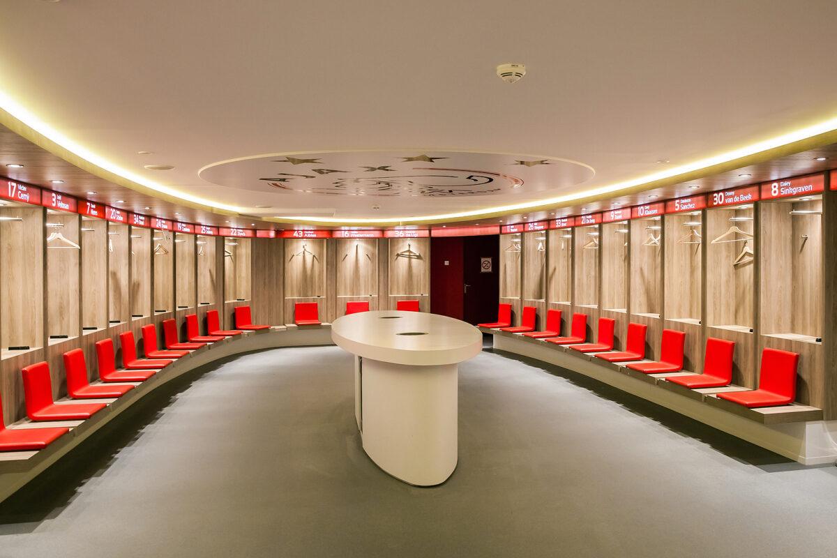 Spogliatoi Johann Cruyff Arena - Ajax