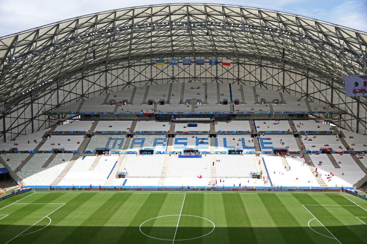 Stade Velodrome, Marsiglia