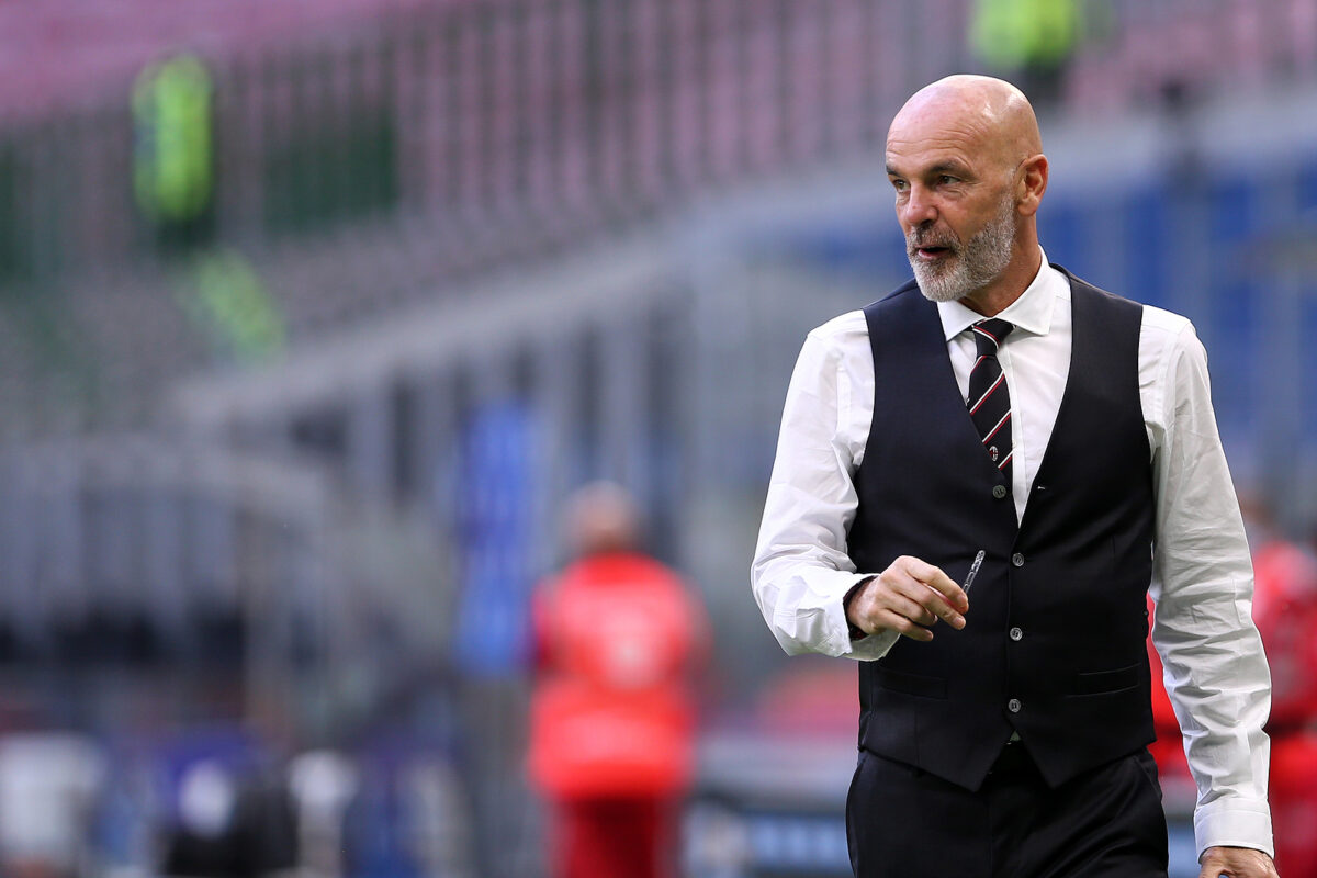 Stefano Pioli, allenatore Milan