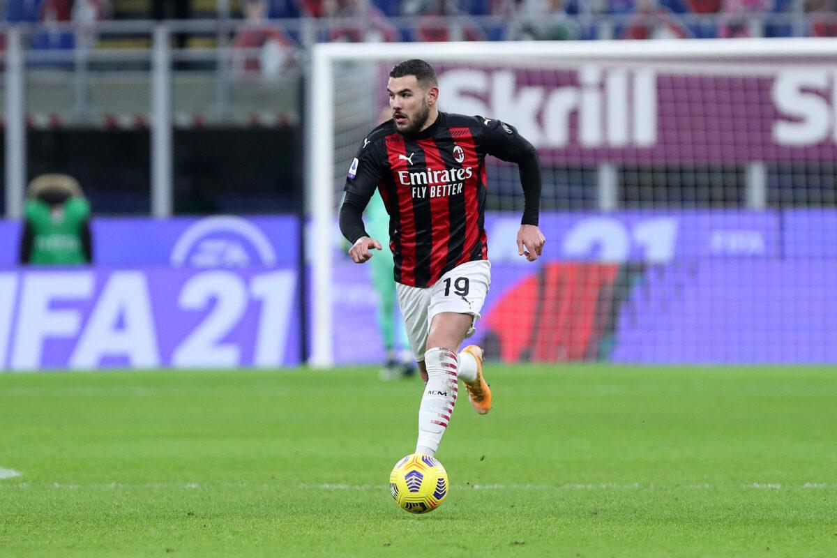 Theo Hernandez, difensore Milan