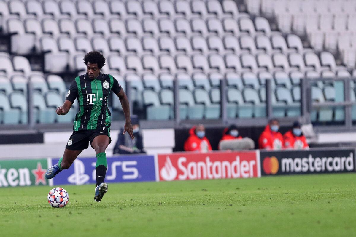 Tokmac Nguen, centrocampista Ferencvaros