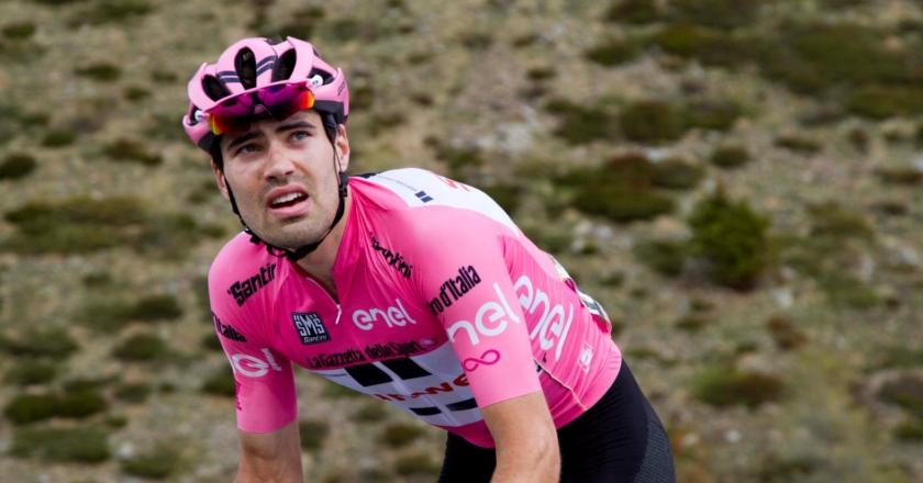 Tom Dumoulin, Maglia Rosa Giro d'Italia