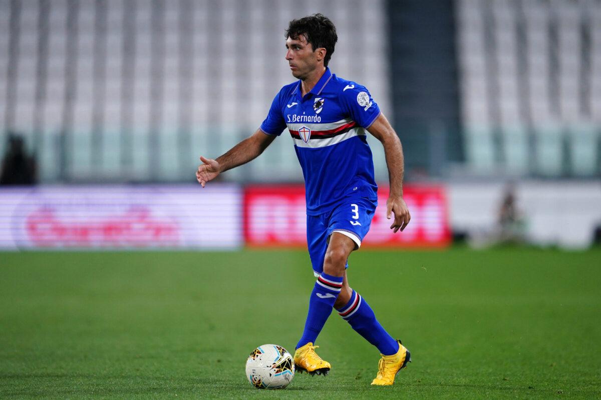 Tommaso Augello, difensore Sampdoria