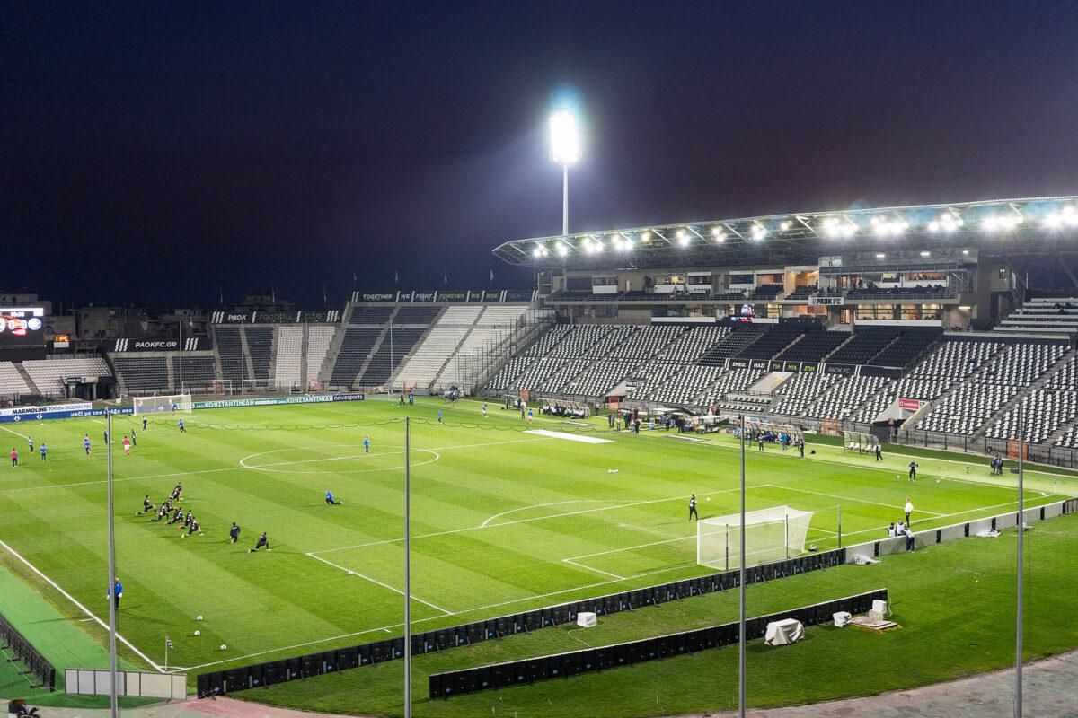 Toumba Stadium, Paok Salonicco