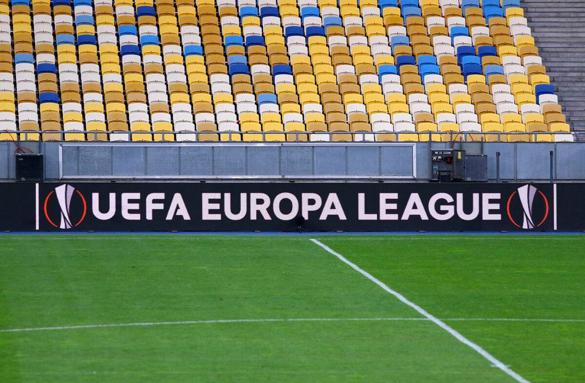 UEFA Europa League banner