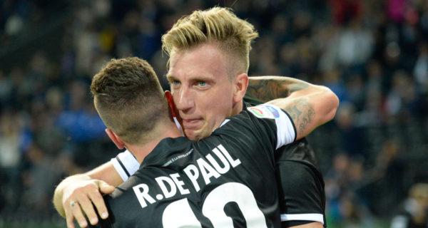 Udinese: De Paul, Maxi Lopez