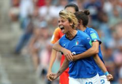 Valentina Giacinti, attaccante Italia femminile