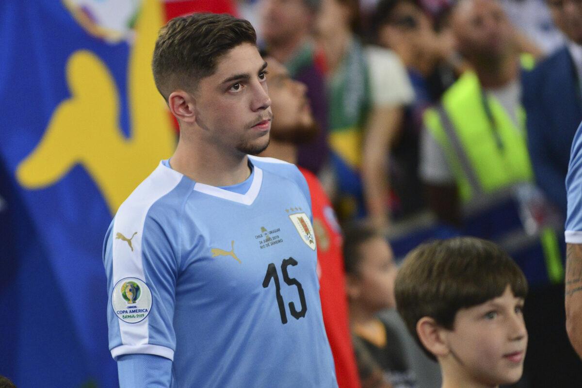 Valverde, centrocampista Uruguay